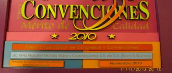 Grupos y Convenciones 2010