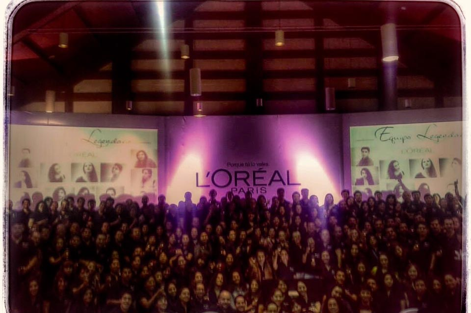 L´oréal Público Travel and Business