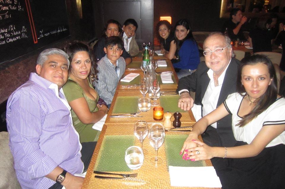 Paris BCN y Madrid Travel and Business Comida