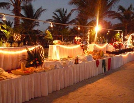 montaje de Evento en Playa