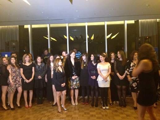 Cena de fin de año L'Oreal DCA reconocimiento