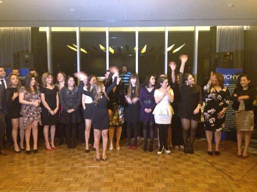Cena de fin de año L'Oreal DCA aplausos