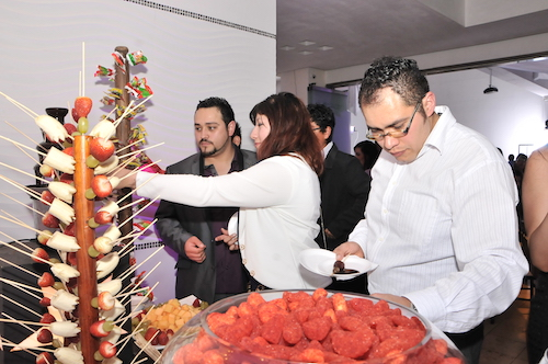 Fiestas empresariales L'Oréal mesa de dulces