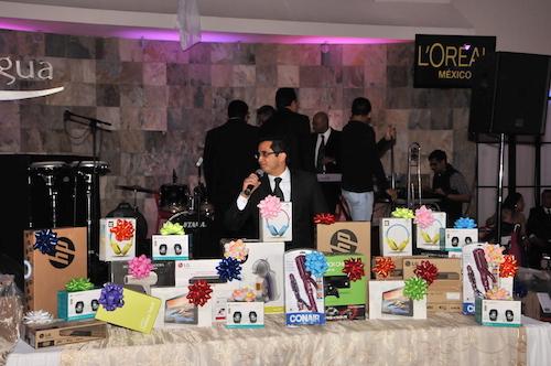 Fiestas empresariales L'Oréal rifa