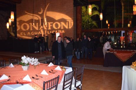 grupo Bonafont junta gerencial cena