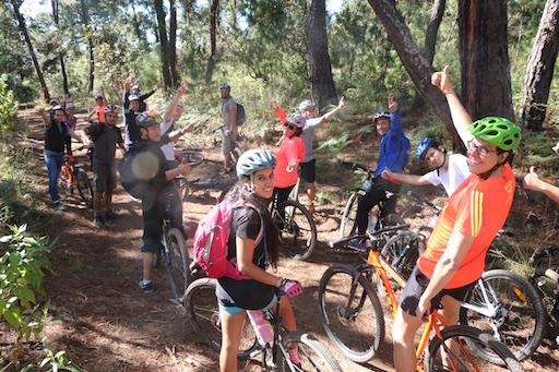 grupo Bonafont junta gerencial ciclismo de montaña