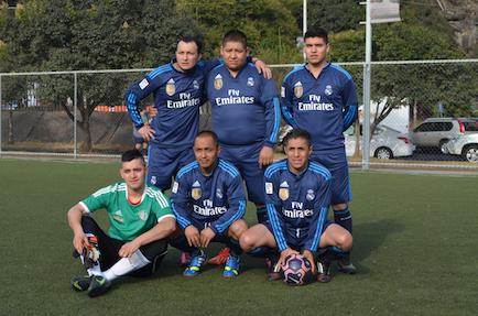 eventos deportivos Danone equipo azul