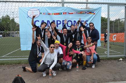 evento deportivo Danone campeones