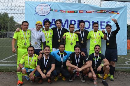 eventos deportivos Danone subcampeonato