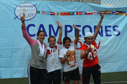 eventos deportivos Danone campeonas